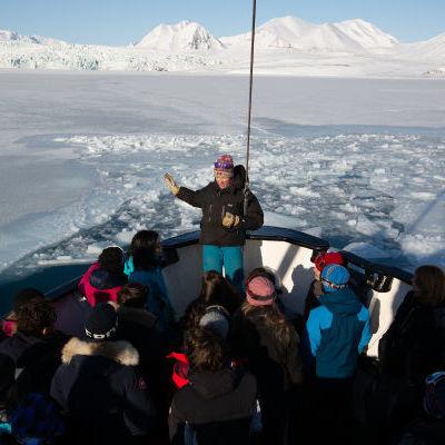 Heidi Sevestre parle de la vie des glaciers