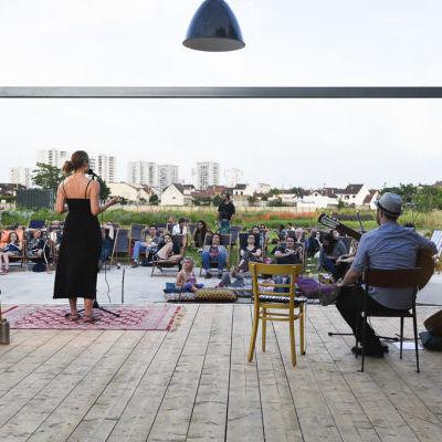 Journée théâtre à Zone Sensible © Jean-Pierre Sageot