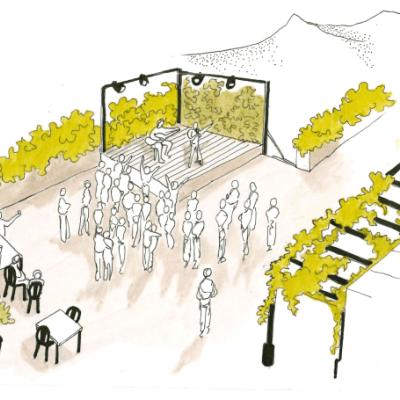 Une scène culturelle accueillera concerts, débats, conférences et animations.